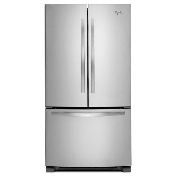 Whirlpool 21 7 Cubic Feet French Door Refrigerator Free