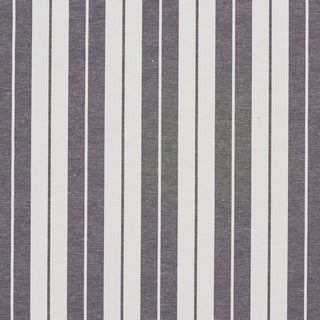 Black and White Ticking Stripes Heavy Duty Upholstery Fabric