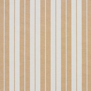Gold and White Ticking Stripes Heavy Duty Upholstery Fabric