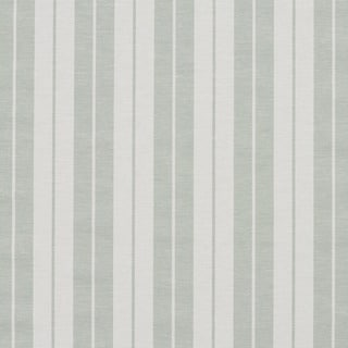 Honey Dew and White Ticking Stripes Heavy Duty Upholstery Fabric