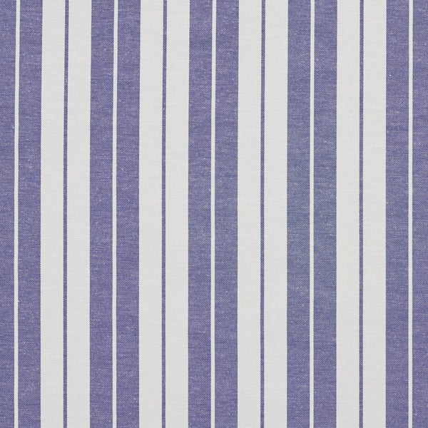Shop Denim Blue And White Ticking Stripes Heavy Duty Upholstery