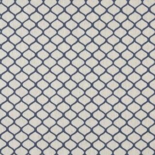 A0005E Off White Modern Geometric Upholstery Fabric