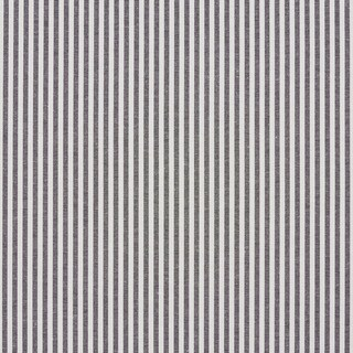 Black and White Ticking Stripes Cotton Heavy Duty Upholstery Fabric
