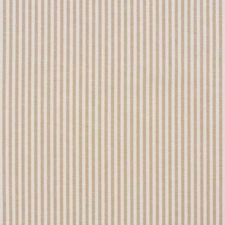 Gold and White Ticking Stripes Cotton Heavy Duty Upholstery Fabric