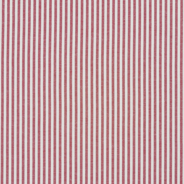 Shop Red And White Ticking Stripes Cotton Heavy Duty Upholstery