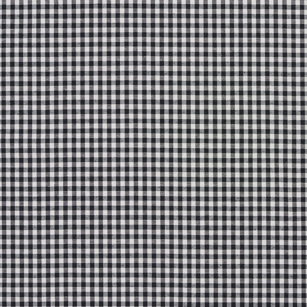 Shop Black And White Small Gingham Cotton Heavy Duty Upholstery