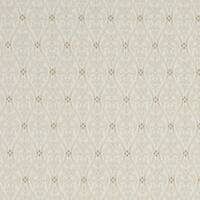 A479 Beige and Ivory Waves Lines and Foliage Upholstery Fabric