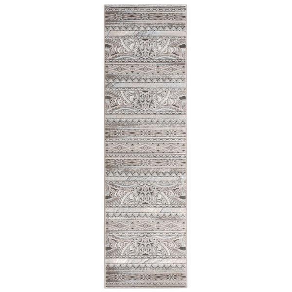 "Nourison Karma Stone Runner Rug (2'2 x 7'6) - 2'2""x7'6"""