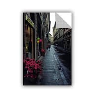 ArtAppealz Kathy Yates 'Rainy Day In Florence' Removable Wall Art