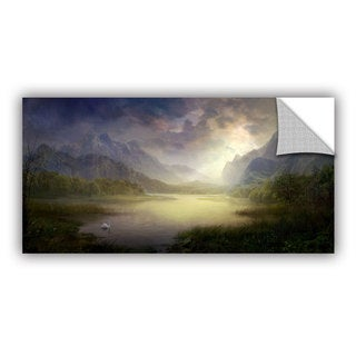 ArtWall Philip Straub 'Silent Morning' Art Appealz Removable Wall Art
