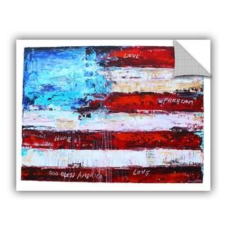 ArtWall Jolina Anthony 'America ' Art Appealz Removable Wall Art