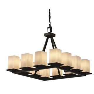 Justice Design Group Fusion-Montana 12-light Chandelier
