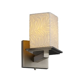 Justice Design Group Limoges-Montana 1-light Bamboo Wall Sconce
