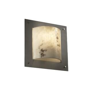Justice Design Group LumenAria-Framed 1-light Wall Sconce