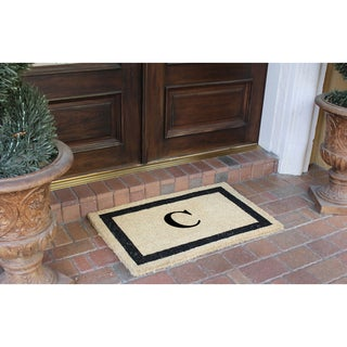 First Impression Classic Border Monogrammed Door Mat (2' x 3') (More options available)