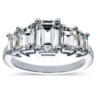 Annello by Kobelli White Gold Moissanite (HI) and 1 1/3ct TDW Diamond Engagement Ring (H-I, SI) https://ak1.ostkcdn.com/images/products/10289585/P17404059.jpg?_ostk_perf_=percv&impolicy=medium
