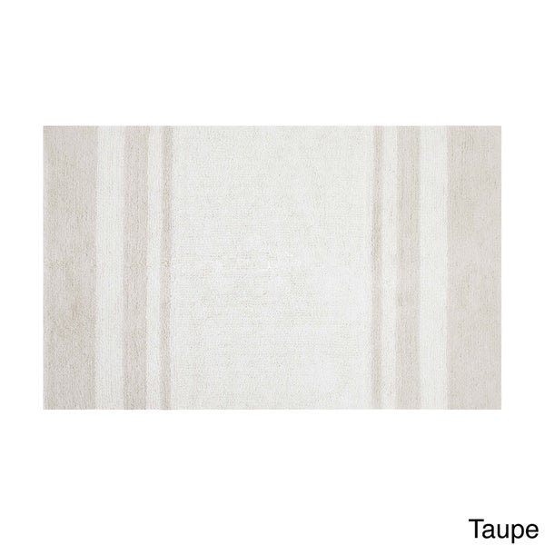 brown and grey bathroom rug madison park spa cotton reversible bath rug free shipping on
