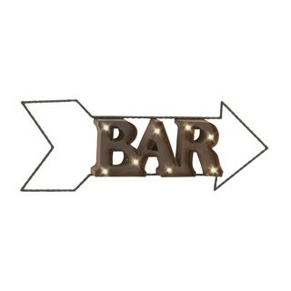 34-inch Arron Bar Wall Sign