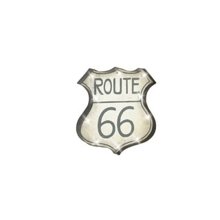 22-inch Metal Route 66 Wall Sign