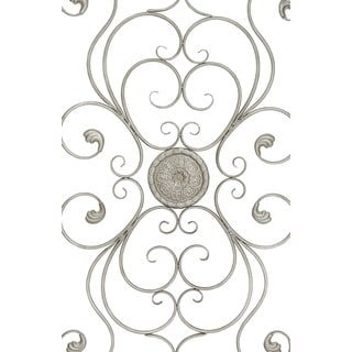 60-inch Antique Silver Iron Open Wall Panel