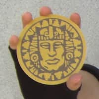 Legends of The Hidden Temple Temple Pendant of Life Guard Prop