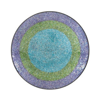 36-inch Global Inspired Mosaic Wall Platter
