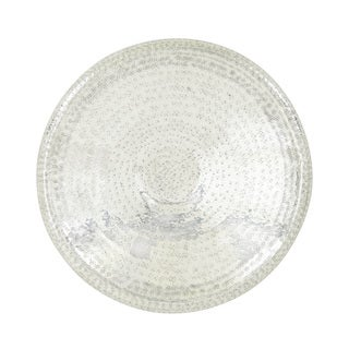 24-inch Global Inspired Iron Hammered Wall Platter