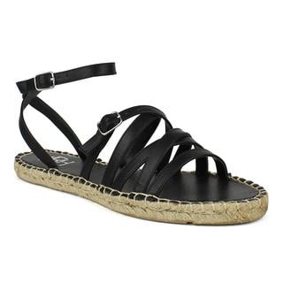 Fahrenheit Women's Jeana-02 Strappy Women's Flat Espadrille Sandal
