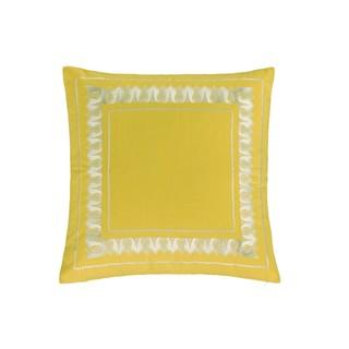 Echo Design Jaipur Yellow Cotton Euro Sham