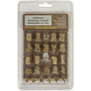 Hot Stamps Number & Symbol Set 24/Pkg