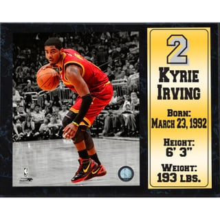 Kyrie Irving Cleveland Cavaliers 12-inch x 15-inch Stat Plaque
