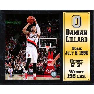 Damian Lillard Portland Trail Blazers 12-inch x 15-inch Stat Plaque
