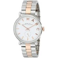 Marc Jacobs Women's  'Baker' Two-Tone Stainless Steel Watch