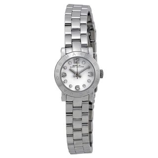 Marc Jacobs Women's MBM3225 'Amy Dinky' Crystal Stainless Steel Watch