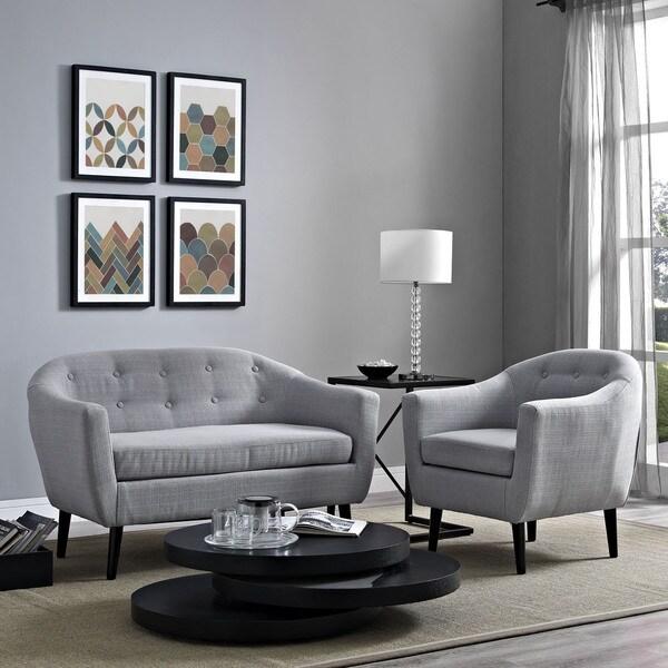 Living Rooms On Sale: Shop Wit 2-piece Upholstered Living Room Set