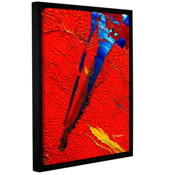 ArtWall Byron May 'Forbidden Paradise' Gallery-wrapped Floater-framed Canvas