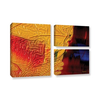 ArtWall Byron May 'The Approaching Storm' 3 Piece Gallery-wrapped Canvas Flag Set