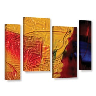 ArtWall Byron May 'The Approaching Storm' 4 Piece Gallery-wrapped Canvas Staggered Set