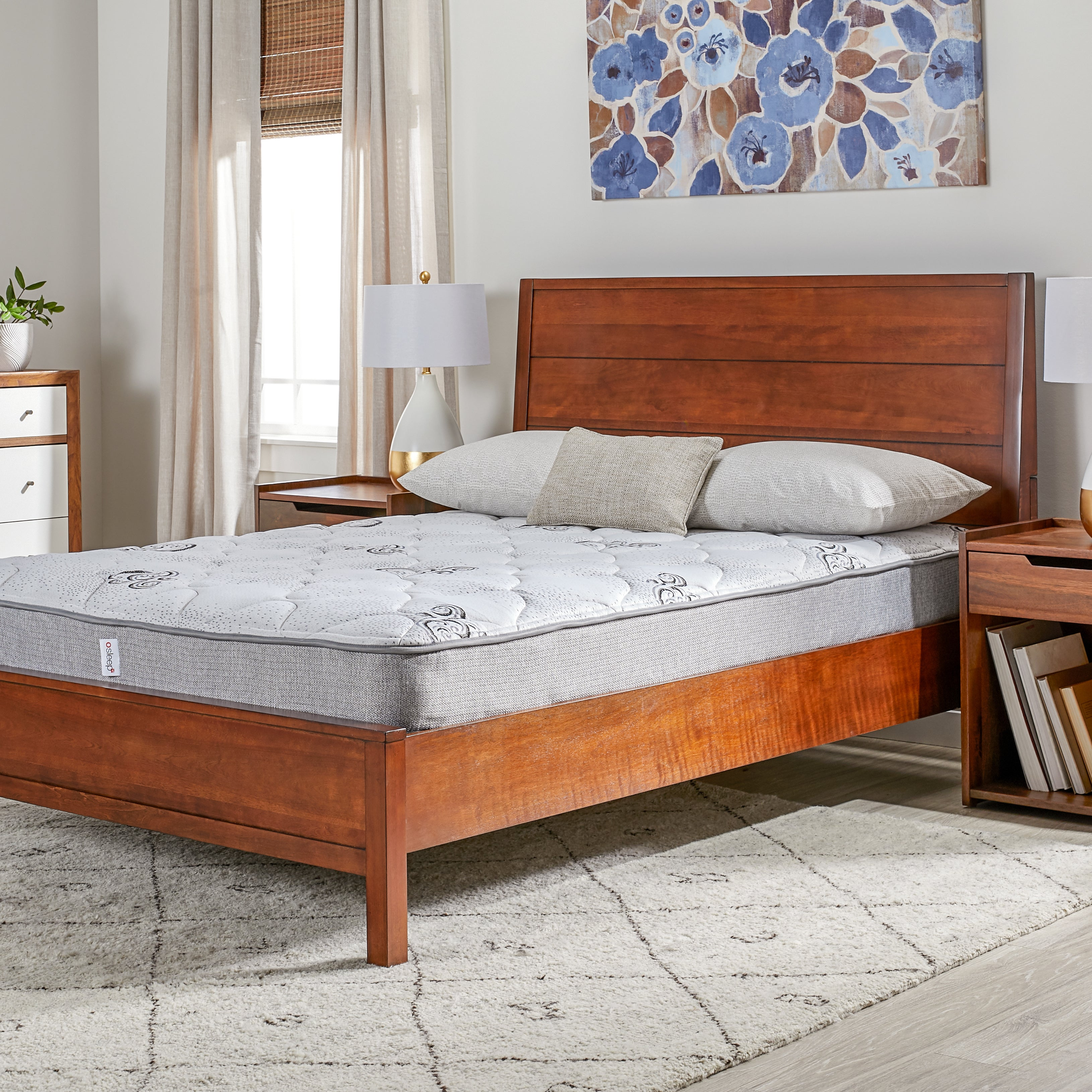 Wolf Sleep Comfort Quilt Twin-size Mattress Bed in a Box ...
