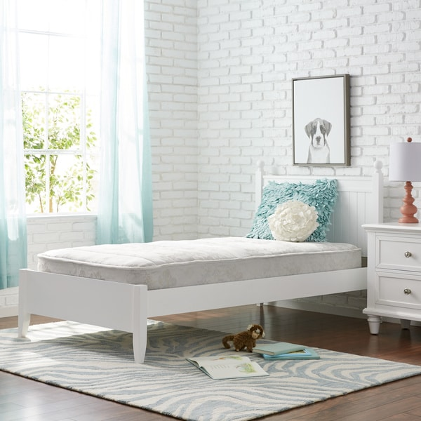 shop wolf sleep comfort quilt twin size mattress bed in a box made in usa white on sale. Black Bedroom Furniture Sets. Home Design Ideas