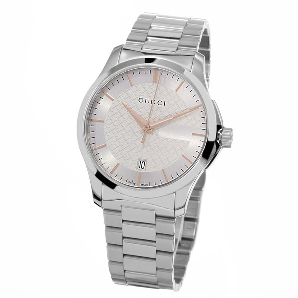 905d58615e2 Shop Gucci Women s YA126442  Timeless  Silver Dial Stainless Steel ...