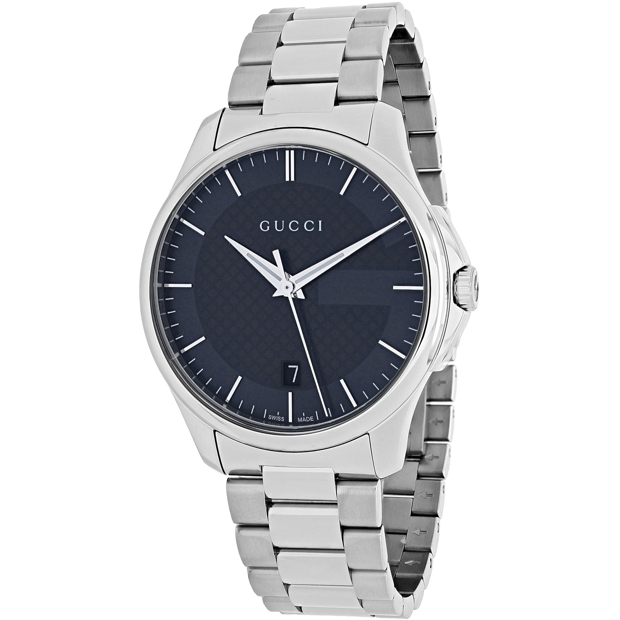 Gucci Women's YA126441 'Timeless' Grey Dial Stainless Ste...