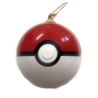 Pokeball Christmas Tree Ornament