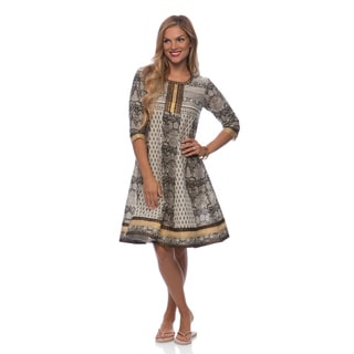 Mohrpankh Women's Floral and Graphic Print Kurta Tunic (India)