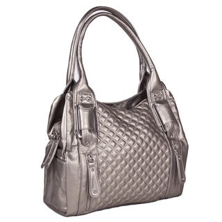 Bueno 'Reagan' Quilted Satchel Bag