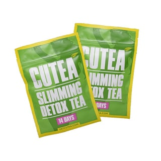 Cutea Organic Slimming 28-day Detox Tea (Pack of 2)
