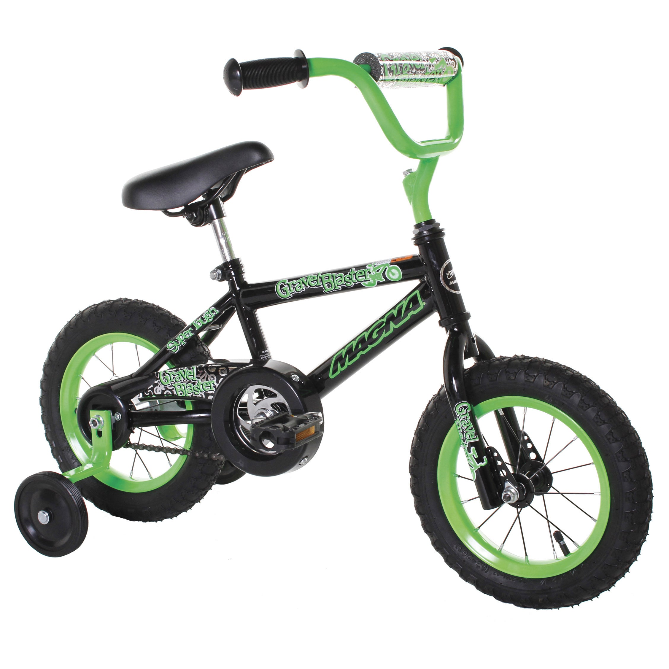 LTD Magna Gravel Blaster 12-inch Boys Bike (12'' Green, B...