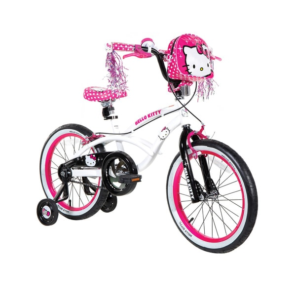 Girls 20 Inch Bike With Basket