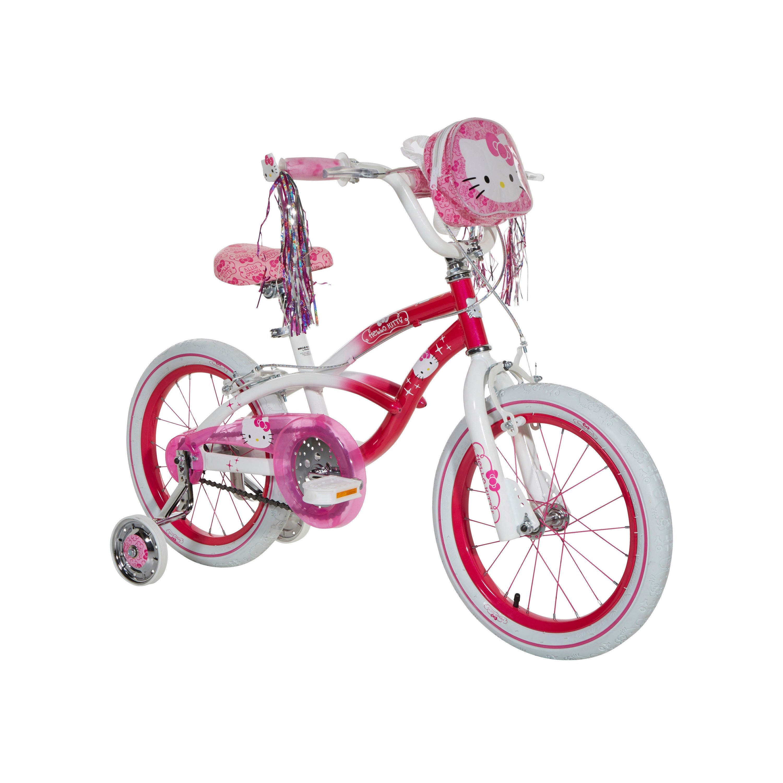 LTD Hello Kitty 16-inch Girls Bike (16'' Hot Pink, White)