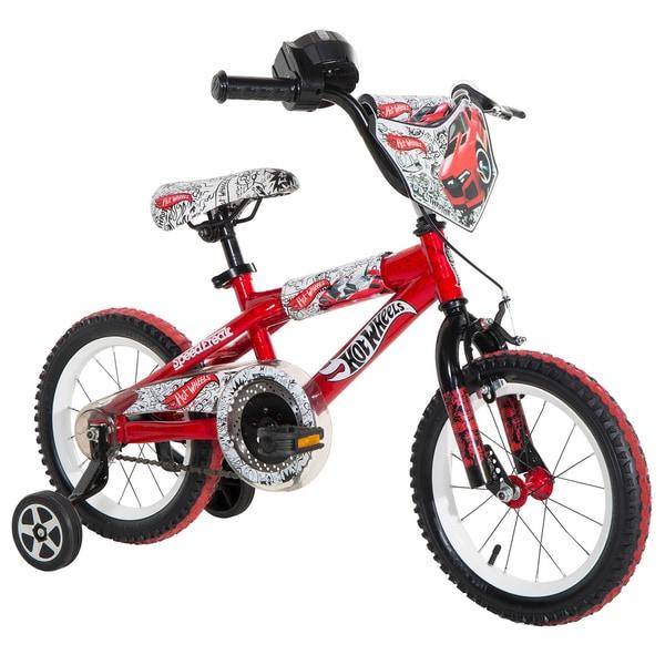 Hot Wheels 14-inch Boys Bike